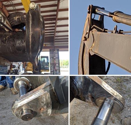 High Reach Excavator Repairs